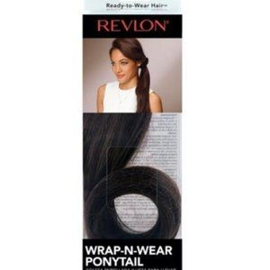 REVLON Wrap-n-Wear Synthetic Ponytail Dark Brown